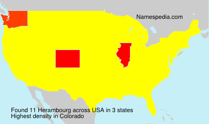Surname Herambourg in USA