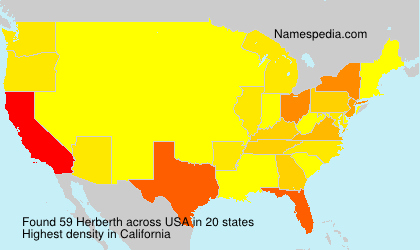 Surname Herberth in USA