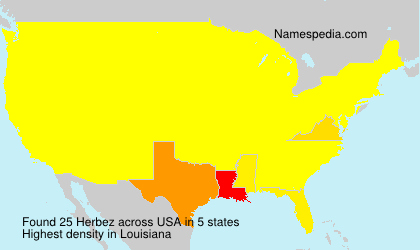 Surname Herbez in USA
