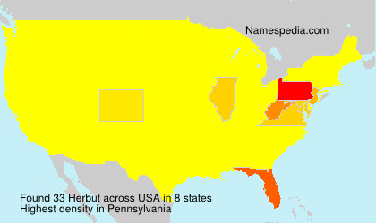 Surname Herbut in USA