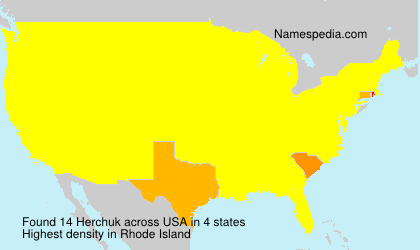 Surname Herchuk in USA