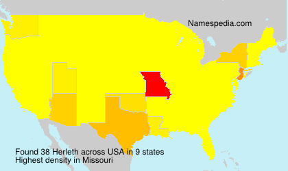 Surname Herleth in USA