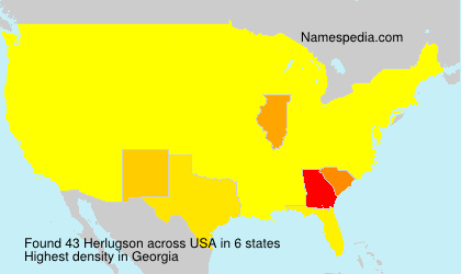 Surname Herlugson in USA