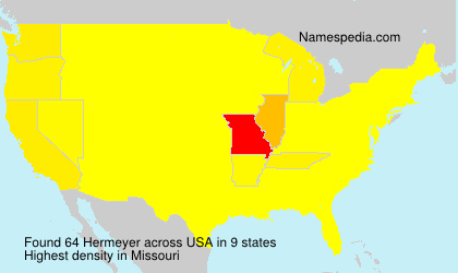 Surname Hermeyer in USA