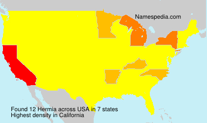 Surname Hermia in USA