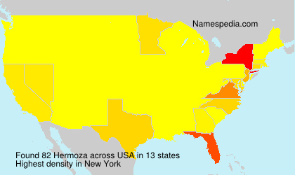 Surname Hermoza in USA