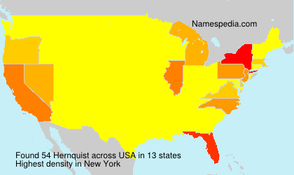 Surname Hernquist in USA