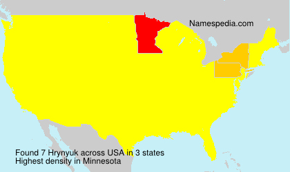 Surname Hrynyuk in USA