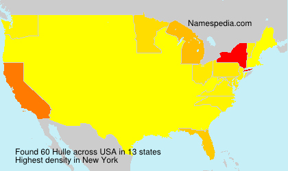 Surname Hulle in USA