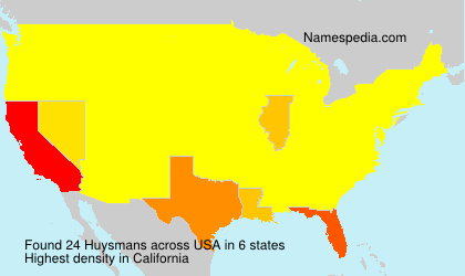 Surname Huysmans in USA