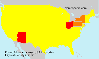 Surname Huzau in USA