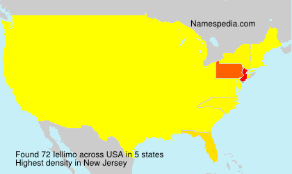 Surname Iellimo in USA