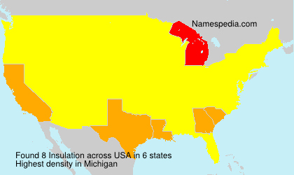 Surname Insulation in USA