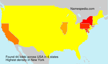 Surname Iobbi in USA