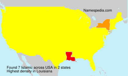 Surname Islamic in USA
