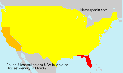 Surname Issartel in USA