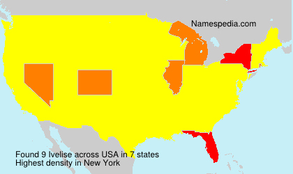 Surname Ivelise in USA