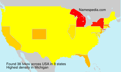 Surname Ivkov in USA