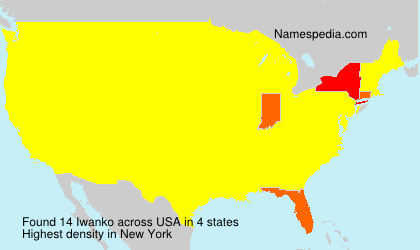 Surname Iwanko in USA