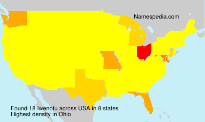 Surname Iwenofu in USA