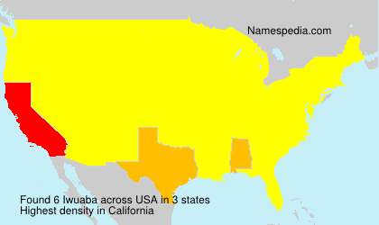 Surname Iwuaba in USA