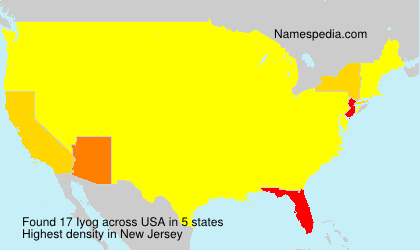 Surname Iyog in USA