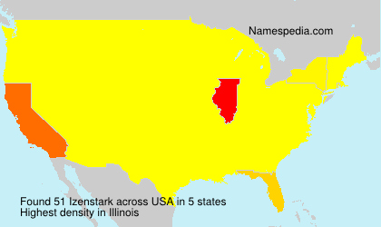 Surname Izenstark in USA