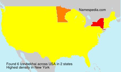 Surname Izevbekhai in USA