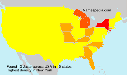 Surname Jasar in USA