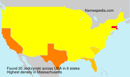 Surname Jedrzynski in USA