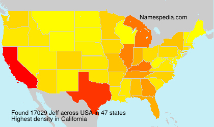 Surname Jeff in USA