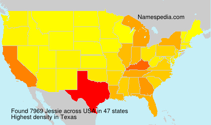 Surname Jessie in USA