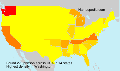 Surname Jphnson in USA