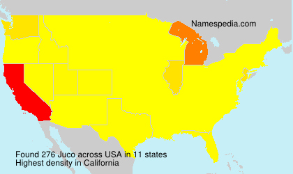 Surname Juco in USA