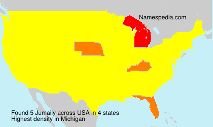 Surname Jumaily in USA