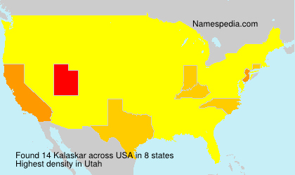 Surname Kalaskar in USA