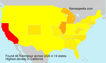 Surname Karimpour in USA