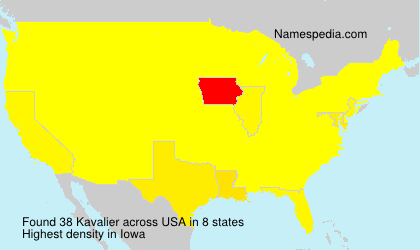 Surname Kavalier in USA