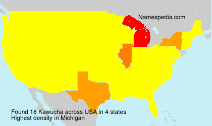 Surname Kawucha in USA
