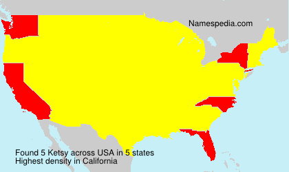 Surname Ketsy in USA