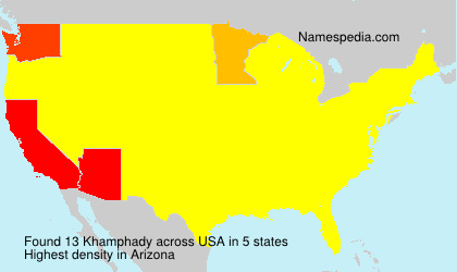 Surname Khamphady in USA