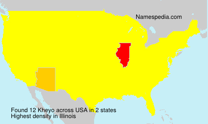 Surname Kheyo in USA