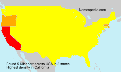 Surname Kilchherr in USA