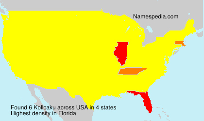 Surname Kollcaku in USA
