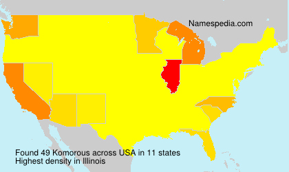 Surname Komorous in USA