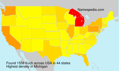 Surname Kuch in USA