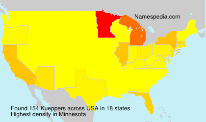 Surname Kueppers in USA