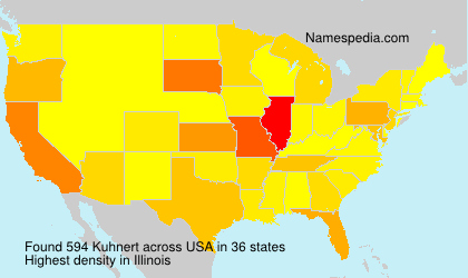 Surname Kuhnert in USA