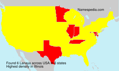 Surname Lanaya in USA