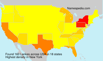 Surname Lankes in USA